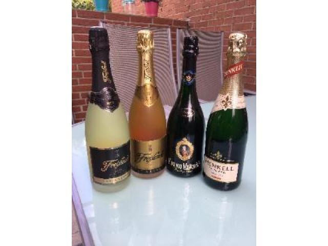 4 Flaschen Sekt diverse Sorten