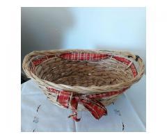 Osterkörbchen gegen Milka Schoki Osterhase zu tauschen.