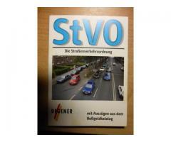 zu verschenken: StVO Stand 1. 4. 2001 mit Auszügen aus dem Bußgeldkatalog